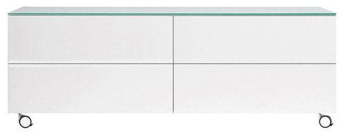 Arctic 50 Sideboard 4L, Vit - Opbevaringsskabe