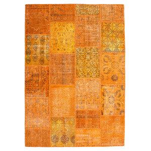 Jumble Patchwork 560 Rug, Orange, 200x290 cm