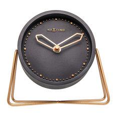 Cross Table Clock, Black