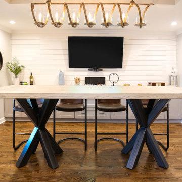 Braylon Double Asterisk - Modern Farmhouse Table