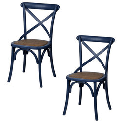 Tropical Dining Chairs by Fantastic Decor LLC