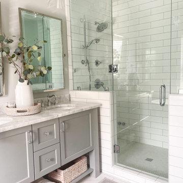 Coastal Home Master Bathroom Renovation - AFTER
