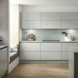 Benchmarx True Handleless Kitchen Nordica Grey Modern Kitchen Other By Benchmarx Kitchens Joinery