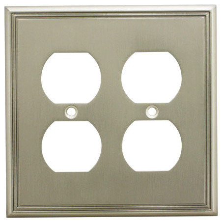 cosmas cosmas decorative wall cover satin nickel series