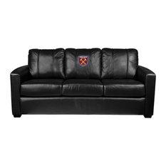 West Ham United Crest Logo Silver Sofa