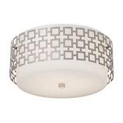 Jonathan Adler Parker Nickel Ceiling Light