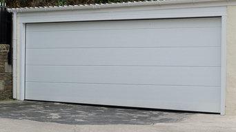Bespoke Alutech Sectional Garage Door