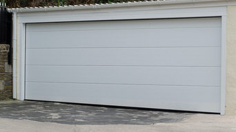 Bespoke Alutech Sectional Garage Door