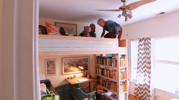 Houzz Tour: Reclaimed Wood Fills a Third-Generation Craftsman's Home