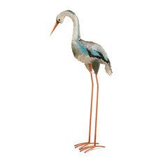 "Garden Accents Blue Crane, 40"""