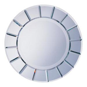 Coaster Round Sun-Shape Mirror