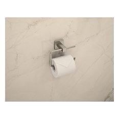 Duro Toilet Paper Holder, Satin Nickel