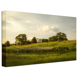 """Remnant of Better Days"" Rural Landscape Photo Fine Art Canvas Wall Art Print, 2"
