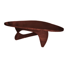 Fine Mod Imports   Fine Mod Imports Rare Coffee Table, Cherry   Coffee  Tables