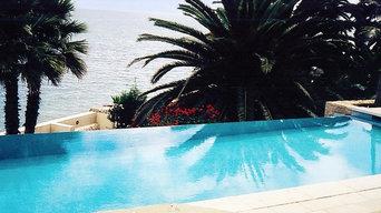 Ocean Front Infinity Pool - Santa Barbara, CA