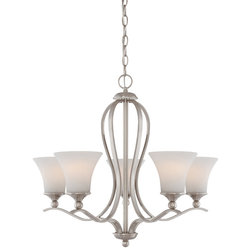 Cute Transitional Chandeliers by Quoizel