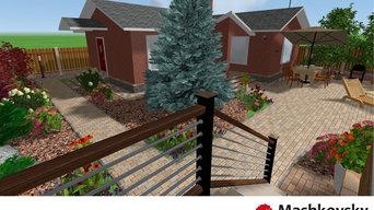 """Проект 3D """"Зелёный дом"""""""