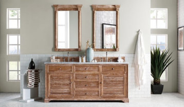 Double-Sink Vanities by Color With Free Shipping