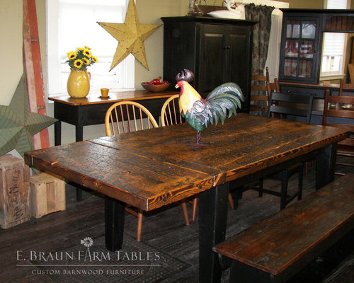 Reclaimed Barn Wood Furniture - Kitchen And Dining Furniture - Reclaimed Barn Wood Furniture