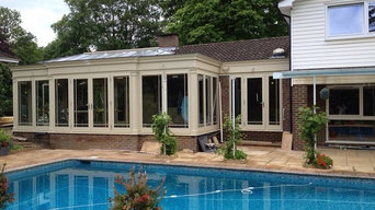Harwood Orangery with internal alterations to kitchen.