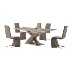 Most Popular Contemporary Dining Room Sets For Houzz - Contemporary breakfast table and chairs