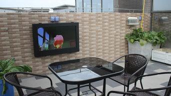 """43"""" outdoor tv enclosure"""