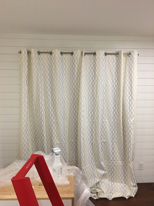 Curtain Rod Placement For Bedroom Patio Door Dilemma