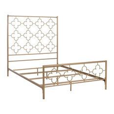 Safavieh Morris Lattice Metal Bed, Full