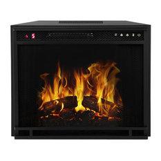 "LED Electric Firebox Fireplace Insert, 28"""