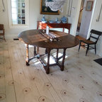 Saphire And Sand Eclectic Dining Room By High