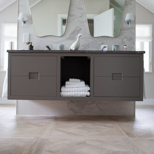 large format porcelain wall and floor tiles.