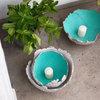 DIY: Bunte Bodenwindlichter aus Beton für Balkon und Terrasse