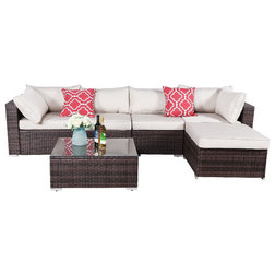 Tropical Outdoor Lounge Sets by Oakville Furniture LLC