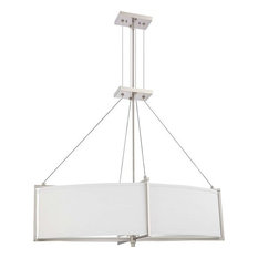 Oval Chandeliers: Nuvo Lighting - Nuvo Lighting 60/4466 Portia Four Light Oval Pendant -  Chandeliers,Lighting
