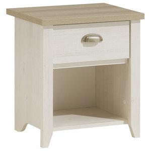 Ellen Bedside Table With Drawer