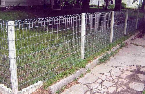 Double Loop Ornamental Fencing