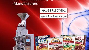Snacks packing machine in India