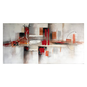 Wall Decor Painting Down town Abstract