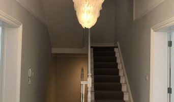 White Swan Feather Chandelier