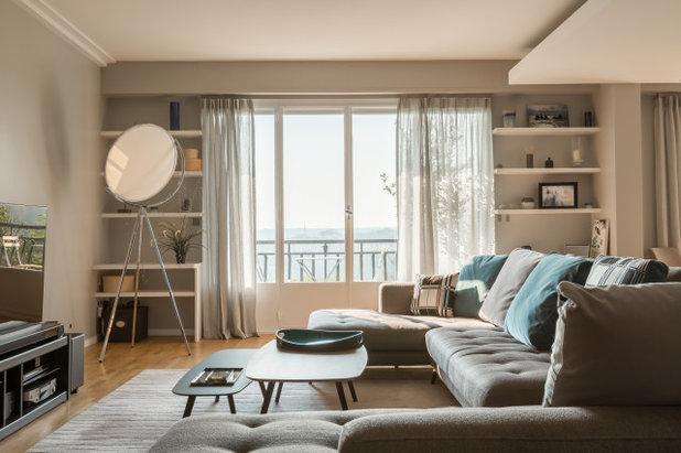 Современный Семейная комната by AXIOME Interior Design