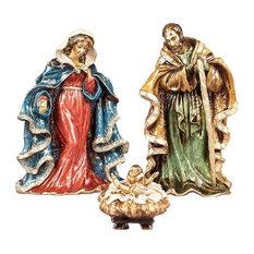 Nativity Set Jewel Finish