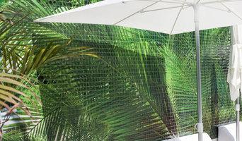 Vanilla Garden Hotel swimming pool mural