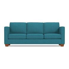 Superb Apt2B   Catalina Queen Size Sleeper Sofa, Performance Teal, Memory Foam  Mattress   Sleeper
