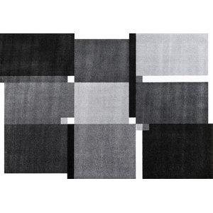 Living Squares Door Mat, Grey, 200x140 cm