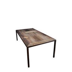 Maaike Wooden Panel Dining Table