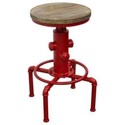 Industrial Bar Stools And Counter Stools by Diamond Sofa