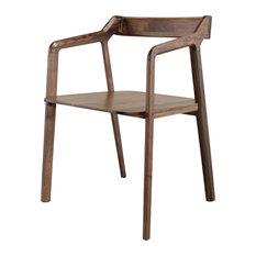 Kundera Chair, Walnut