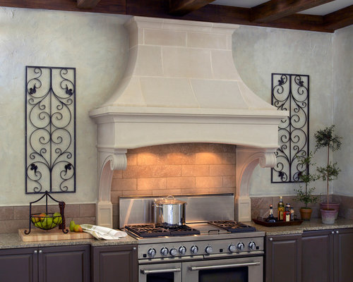 Bentwood Cast Stone Kitchen Range Hood   Range Hoods And Vents