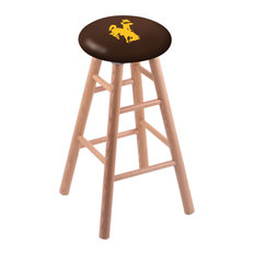 Oak Bar Stool Natural Finish With Wyoming Seat 30-inch