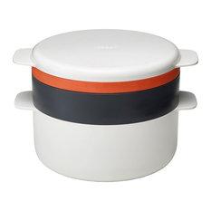 Joseph Joseph M-Cuisine 4--Piece Stack Cooking, Orange
